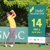 池田勇太は暫定2位。半数がホールアウトできなかった 2019年 SMBCシンガポールオープン 初日 池田勇太