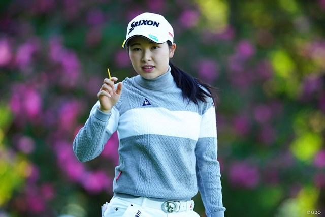 強化指定選手に初めて選ばれた小祝さくら(※写真は2018年LPGAツアー選手権リコーカップ)