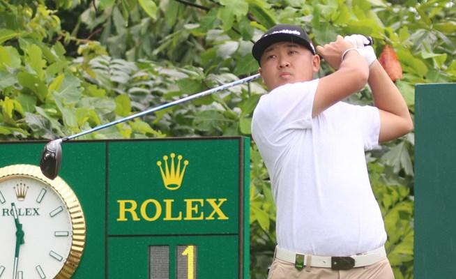 第1ラウンド終了 下部賞金王の佐藤大平が首位発進/シンガポールOP