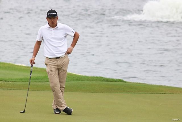下部ツアーの賞金王、佐藤大平が好位置で決勝ラウンドへ