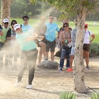 首位を堅守したローリー。3打リードで最終日を迎える(Warren Little/Getty Images) 2019年 アブダビHSBCゴルフ選手権 3日目 シェーン・ローリー