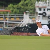 石川遼は6番でバンカーからの脱出に2打を要し、ダブルボギーをたたいた 2019年 SMBCシンガポールオープン 3日目 石川遼