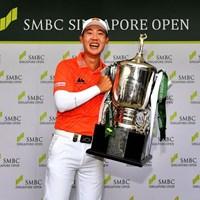ジャズ・ジェーンワタナノンドが勝利(提供:アジアンツアー) 2019年 SMBCシンガポールオープン 最終日 ジャズ・ジェーンワタナノンド