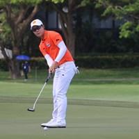 ジャズ・ジェーンワタナノンドは4日間を通して4ボギーと安定感抜群のゴルフを展開した 2019年 SMBCシンガポールオープン 最終日 ジャズ・ジェーンワタナノンド