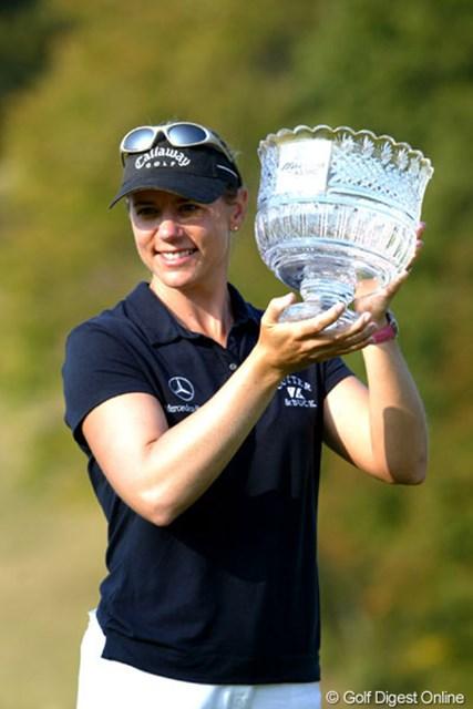 通算22アンダーで前人未到の大会4連覇を達成した女王アニカ・ソレンスタム