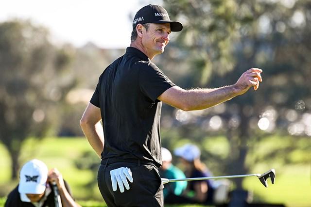 ジャスティン・ローズが首位で決勝に進んだ(Keyur Khamar/PGA TOUR)