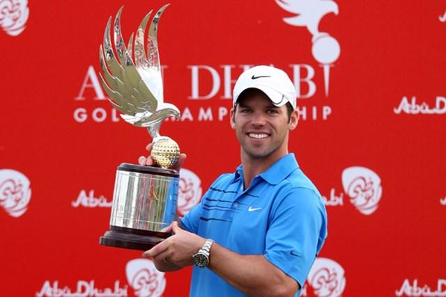 2010年 アブダビゴルフ選手権 事前 ポール・ケーシー 昨年大会はP.ケーシーが逃げ切り勝利を飾った(David Cannon /Getty Images)