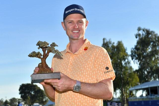 世界ランク1位が貫録の勝利。ローズが節目の米国ツアー10勝目を挙げた(Donald Miralle/Getty Images)