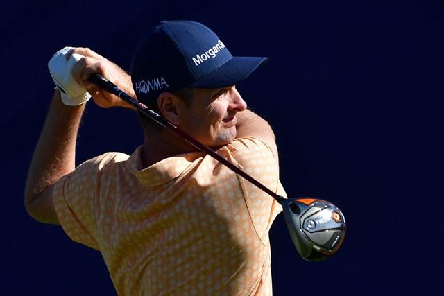 本間ゴルフと契約から2試合目で優勝を飾ったJ.ローズ(Donald Miralle/Getty Images)