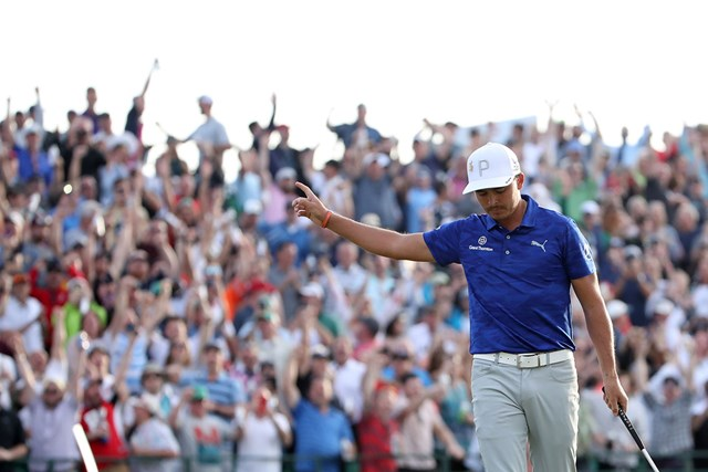 2019年 ウェイストマネジメント フェニックスオープン 2日目 リッキー・ファウラー リッキー・ファウラーが単独首位で決勝ラウンドへ(Christian Petersen/Getty Images)