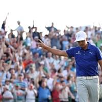 リッキー・ファウラーが単独首位で決勝ラウンドへ(Christian Petersen/Getty Images) 2019年 ウェイストマネジメント フェニックスオープン 2日目 リッキー・ファウラー