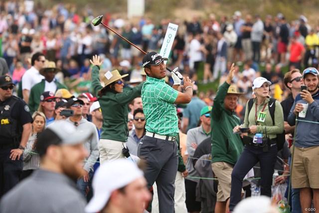 大観衆の中で…松山英樹はスコアを伸ばしきれなかった