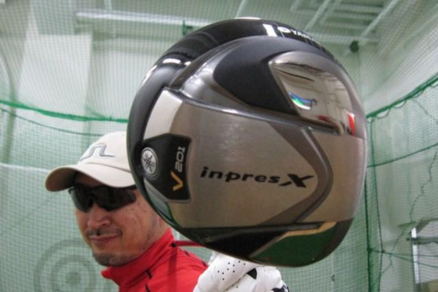 マーク金井が「ヤマハ インプレスX V201 ドライバー」を試打検証