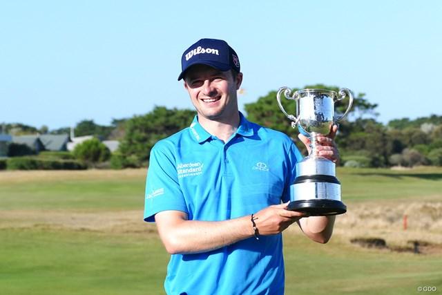 27歳のデービッド・ロウがツアー初優勝を飾った