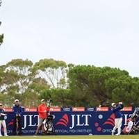 火曜日は新垣、吉田、和久井の若手チームで練習ラウンド 2019年 ISPS HANDA オーストラリア女子オープン 事前 新垣比菜ら