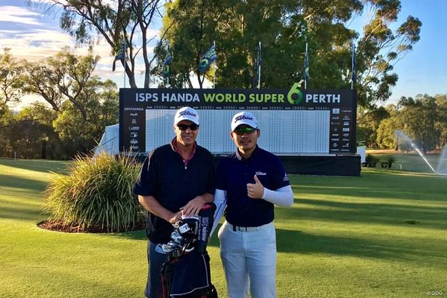 2019年 ISPS HANDA ワールドスーパー6パース 事前 川村昌弘 今週もオーストラリアで試合です。大好きなコースなので頑張りたい!