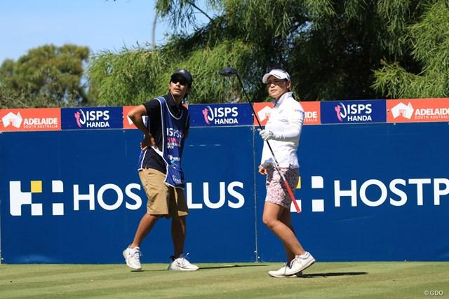 2019年 ISPS HANDA オーストラリア女子オープン 3日目 横峯さくら 連日のアンダーパーで順位を上げた横峯さくら