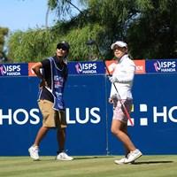 連日のアンダーパーで順位を上げた横峯さくら 2019年 ISPS HANDA オーストラリア女子オープン 3日目 横峯さくら
