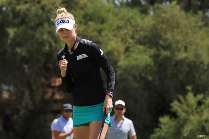 コルダ家で4人目の全豪タイトル保持者となったネリー・コルダ 2019年 ISPS HANDA オーストラリア女子オープン 最終日 ネリー・コルダ