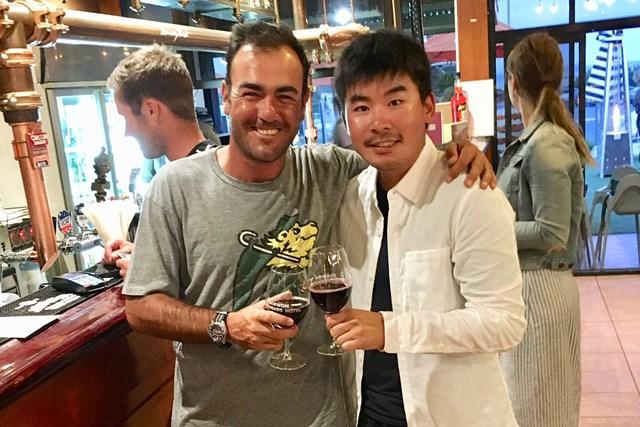 2019年 ISPS HANDA ヴィックオープン 3日目 ヒューゴ・レオン 川村昌弘 今週はオーストラリアで再会したレオン選手のお話です