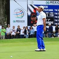 最終9番でカップに蹴られた。松山英樹のパターは宙を舞った 2019年 WGCメキシコ選手権 2日目 松山英樹