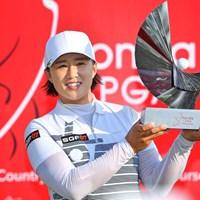 大会3勝目を飾ったエイミー・ヤン(Thananuwat Srirasant/Getty Images) 2019年 ホンダ LPGAタイランド 最終日 エイミー・ヤン
