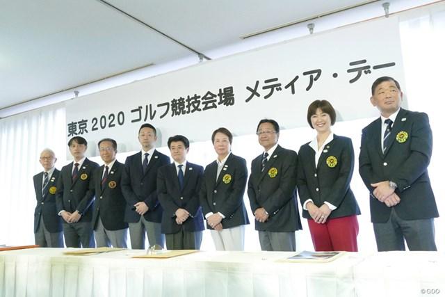 2019年 東京2020ゴルフ競技会場メディア・デー 1年半後に迫った五輪ゴルフに向け、メディア・デーが開催された