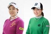 大里桃子(右)と濱田茉優(左)