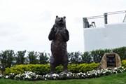 2019年 ザ・ホンダクラシック 事前 熊の銅像