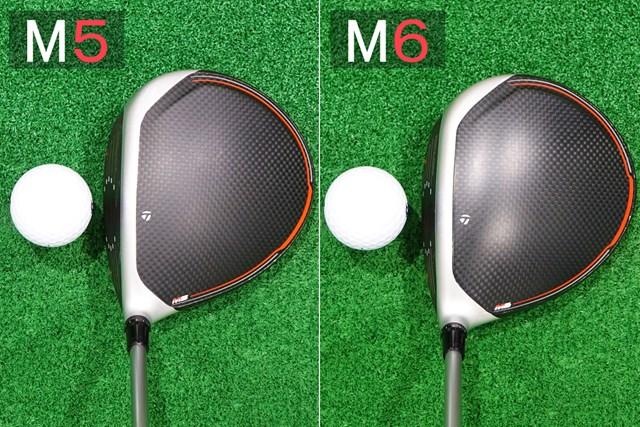 見た目の形状もほぼ同じ。M6のほうがクラウンに光沢がある