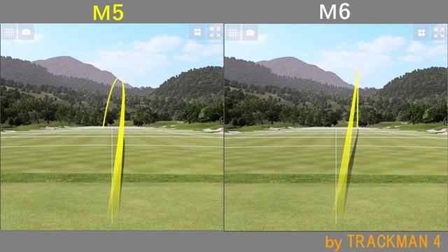 M5 ドライバー/ヘッドスピード別試打 M6よりM5のほうが力強い球が出たと筒氏