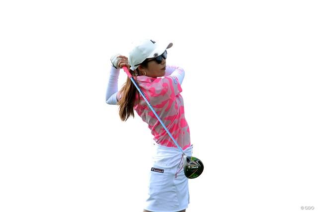 首位から出たものの8位で大会を終えた金田久美子