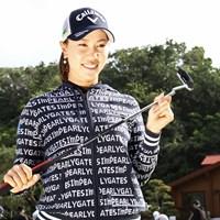 最新パターに高評価を口にした上田桃子 2019年 ダイキンオーキッドレディスゴルフトーナメント 事前 上田桃子