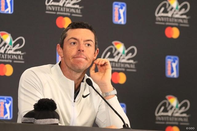 2019年 アーノルド・パーマー招待byマスターカード 事前 ロリー・マキロイ ルール騒動に揺れるゴルフ界だが、マキロイは大人な意見