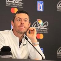 ルール騒動に揺れるゴルフ界だが、マキロイは大人な意見 2019年 アーノルド・パーマー招待byマスターカード 事前 ロリー・マキロイ