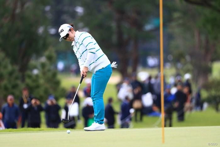 新ルール、ピンを差したままでOK 2019年 ダイキンオーキッドレディスゴルフトーナメント 初日 比嘉真美子