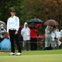 沖縄のファンも泣けちゃう予選落ちに 2019年 ダイキンオーキッドレディスゴルフトーナメント 2日目 諸見里しのぶ