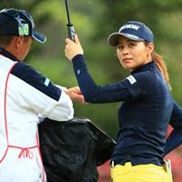 ボードが気になる 2019年 ダイキンオーキッドレディスゴルフトーナメント 3日目 新垣比菜