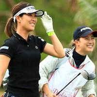 姉妹みたいに仲いいね 2019年 ダイキンオーキッドレディスゴルフトーナメント 最終日 福田真未