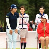 新垣比菜 2019年 ダイキンオーキッドレディスゴルフトーナメント 最終日 比嘉真美子