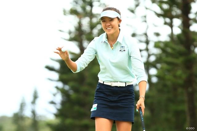 2019年 ダイキンオーキッドレディスゴルフトーナメント 最終日 エイミー・コガ エイミー・コガは粘りのゴルフで2位