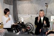 2010年 トークショーに出演した杉原輝雄