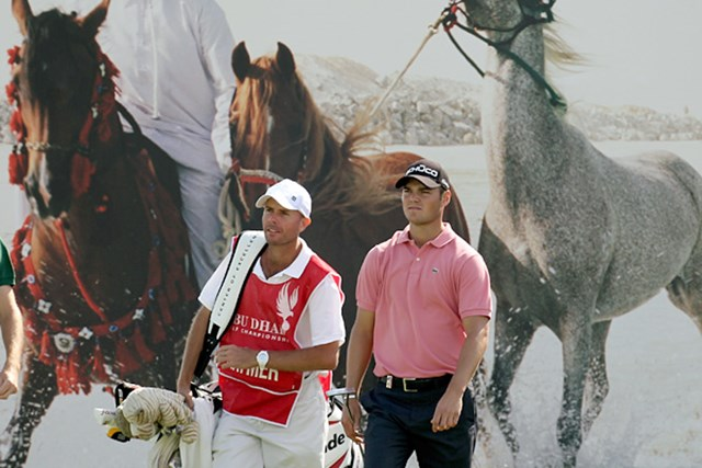 マーティン・カイマー/アブダビゴルフ選手権 単独首位に躍り出たマーティン・カイマー(Ross Kinnaird/Getty Images)