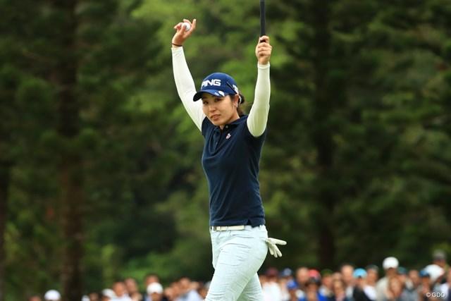 比嘉真美子は日本勢3番手をキープした