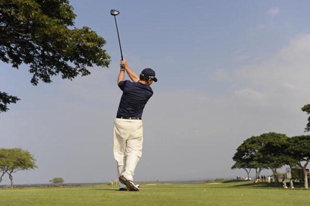トム・ワトソン/三菱電機選手権2日目 2年ぶりとなるチャンピオンズツアーでの勝利を目指すトム・ワトソン(Chris Condon/PGA TOUR)