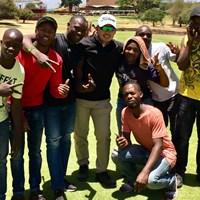 ケニアのゴルフ場でできた友だち!今週はアフリカでプレーします 2019年 コマーシャルバンク・カタールマスターズ 事前 川村昌弘