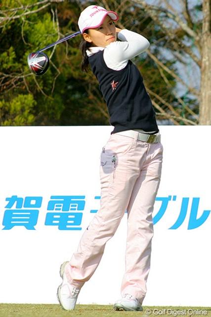 2010年 編集部おススメ!今年の注目プレーヤー 井上希 昨年末に開催された新人戦では2位タイという好成績を収めた