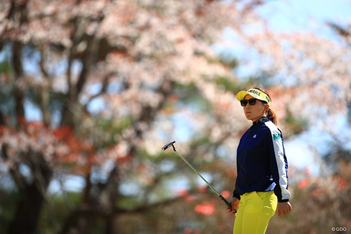 4アンダーまで来ていたが最後に落としてしまったか。 2019年 ヨコハマタイヤゴルフトーナメント PRGRレディスカップ 2日目 有村智恵