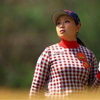 [あっ、、、ペガサス」 2019年 ヨコハマタイヤゴルフトーナメント PRGRレディスカップ 2日目 竹内美雪