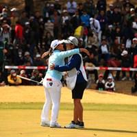 先週の予選落ちが嘘のよう 2019年 ヨコハマタイヤゴルフトーナメント PRGRレディスカップ 最終日 鈴木愛